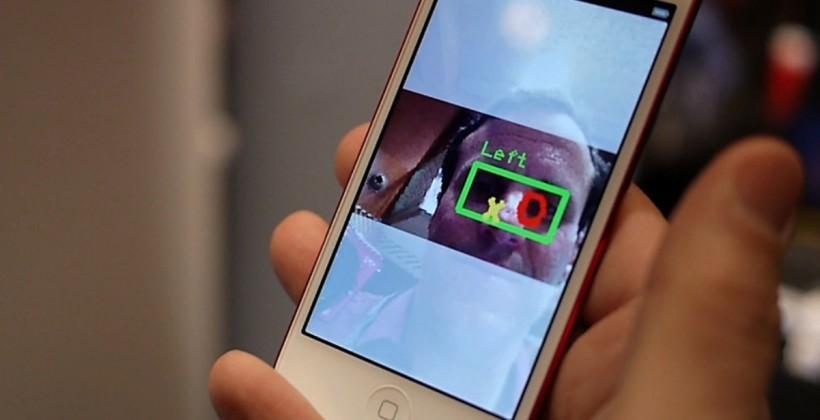 EyeVerify eye-vein biometrics hands-on