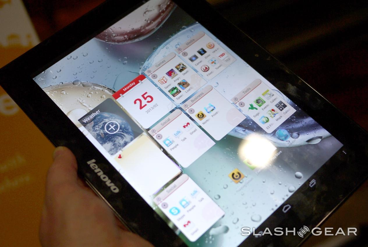 and S-Series tablets hands-on: Watch out Nexus 7, Lenovo is after you