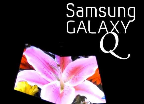Samsung Galaxy Q folding smartphone tipped for MWC 2013