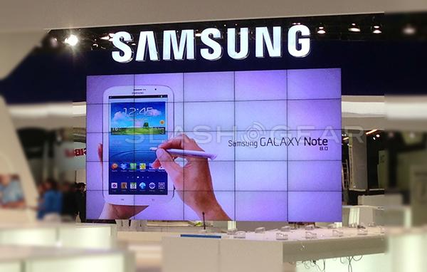 Samsung Galaxy Note 8.0 leaked at MWC