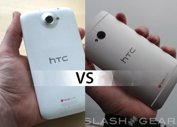 HTC One vs HTC One X vs One X+