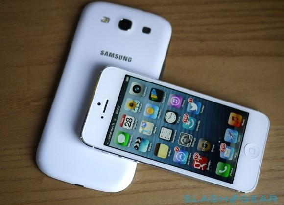 Apple and Samsung grab over half smartphone share as phone sales slim in 2012