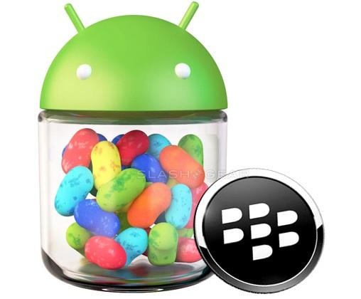 BlackBerry 10 Android Jelly Bean integration confirmed