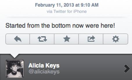 Blackberry's celebrity director Alicia Keys tweets with iPhone, blames it on hacker