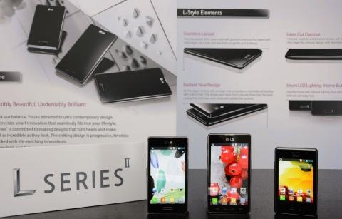 LG unveils Optimus L SeriesII smartphones at Mobile World Congress