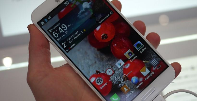 LG Optimus G Pro hands-on: It's a big 'un