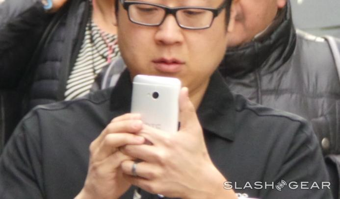 HTC One appears in line for HTC One event