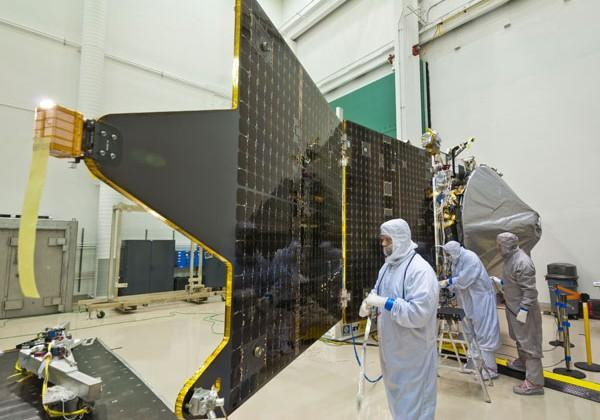 NASA MAVEN spacecraft assembly completed by Lockheed Martin