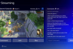 PlayStation 4 multi-user gaming shown through Knack