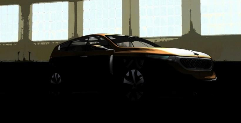 KIA Cross GT concept crossover teased