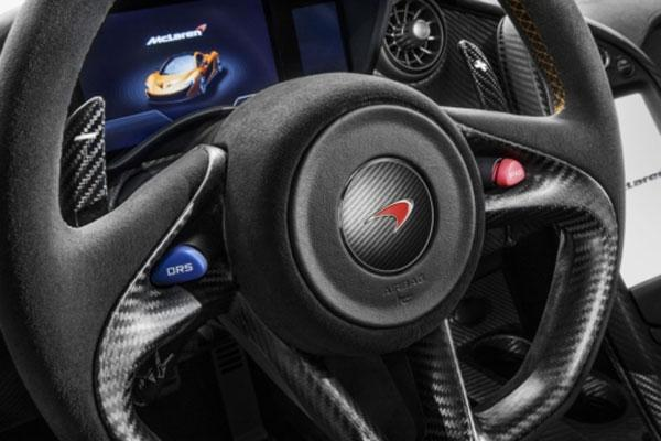 McLaren announces powertrain specifications for P1 supercar