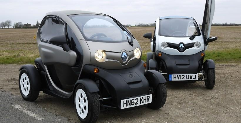 Renault Twizy: We drive the bonkers moon-buggy EV