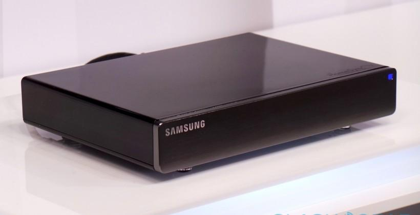 Samsung HomeSync Android media box hands-on
