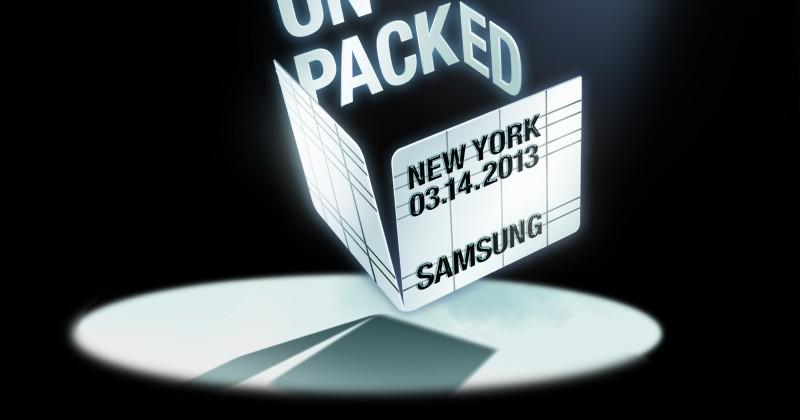 Samsung blasts out March 14 Unpacked invites: Galaxy S4 ahoy!