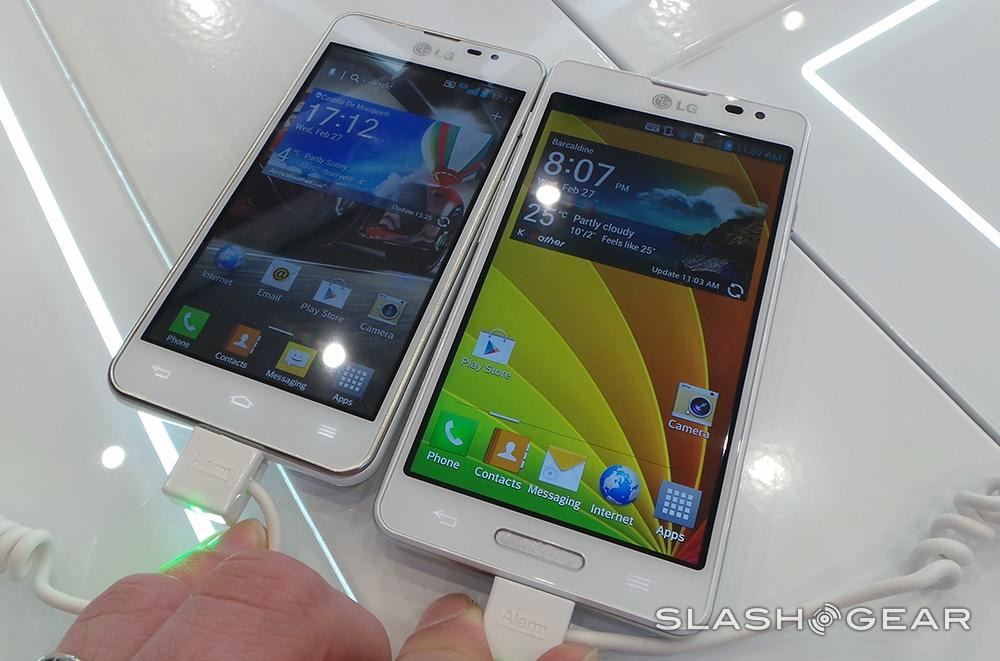 LG Optimus F7 and F5 hands-on: high-end experience in a ...