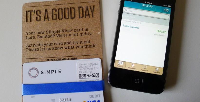 Simple iOS app Review: online-only banking made easy