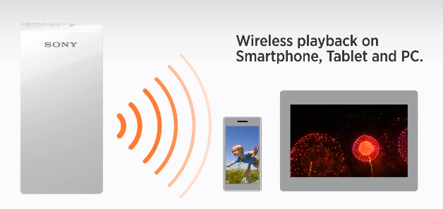Sony unveils Personal Content Station and Portable Wireless Server