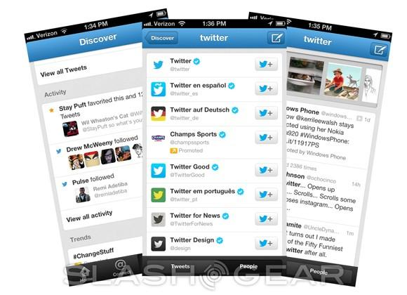Twitter update brings big Search and Discover boost