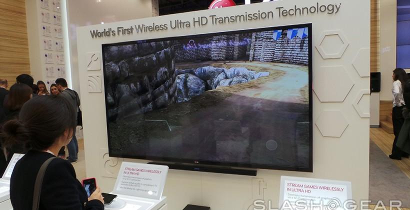 LG Wireless Ultra HD Transmission hands-on: quick as a whip!