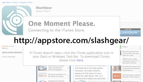 SlashGear 101: How do I get an Apple AppStore.com vanity url?