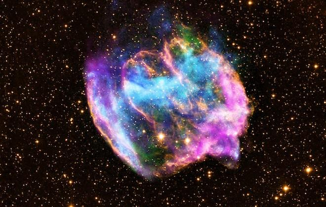 Supernova leftovers may contain newest black hole in Milky Way