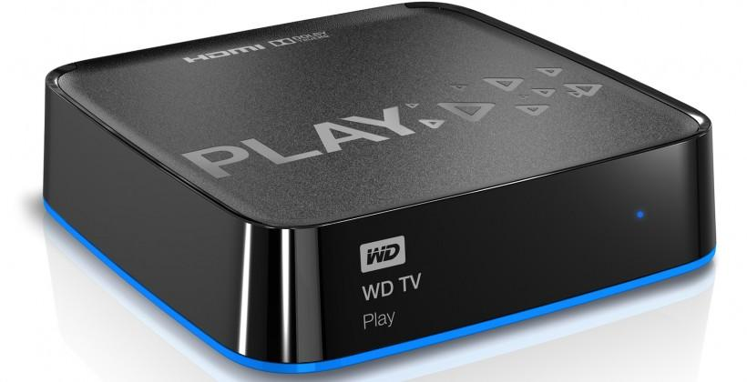 WD TV Play wants you to forget your Apple TV, please