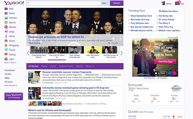Yahoo gets personal with homepage revamp