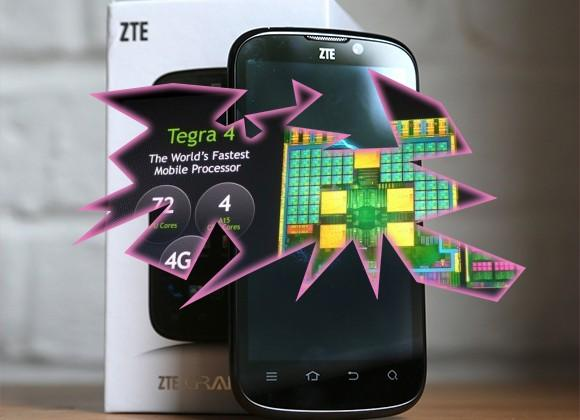 ZTE and NVIDIA announce world's first Tegra 4 Super Phone