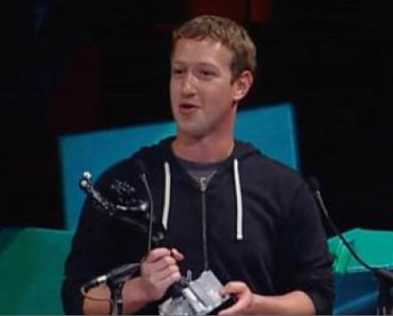 Mark Zuckerberg awarded CEO of the Year Crunchie, Larry Page is runner-up