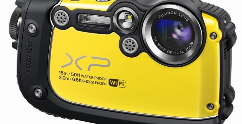Super rugged Fuji FinePix XP200 with Wi-Fi unveiled