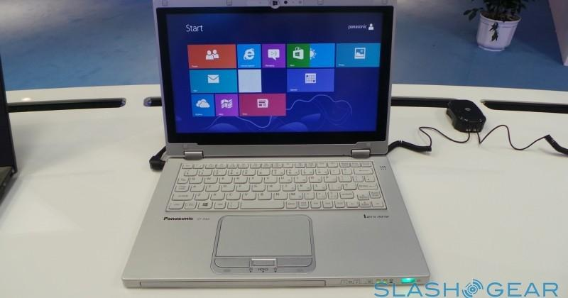 Panasonic Toughbook CF-AX2 hands-on: Extreme Yoga