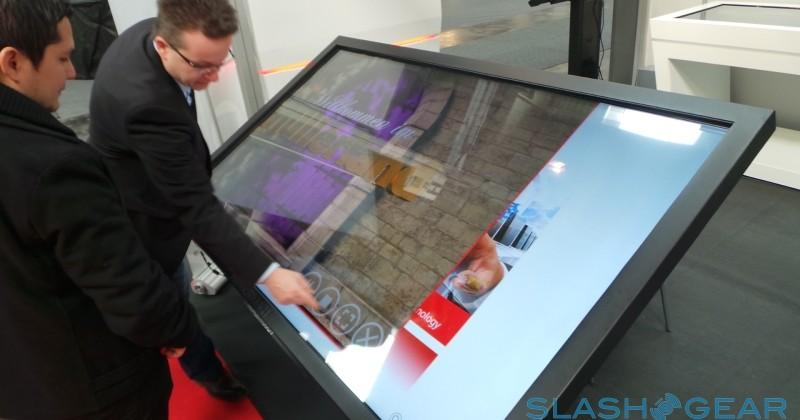 MyMultitouch 84-inch 4K touch-display hands-on: Angry Birds goes massive