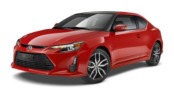 Refreshed 2014 Scion tC unveiled