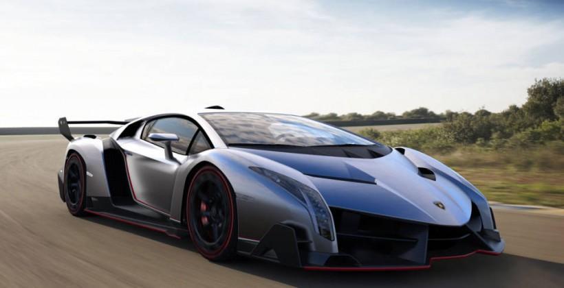 $4.6m Lamborghini Veneno debuts before Geneva event