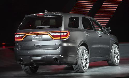 Dodge introduces 2014 Durango at New York Auto Show