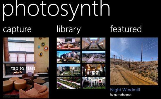 Photosynth panoramic app arrives on Windows Phone 8