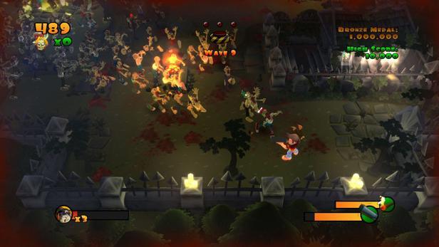 NVIDIA's Project SHIELD demos Burn Zombie Burn