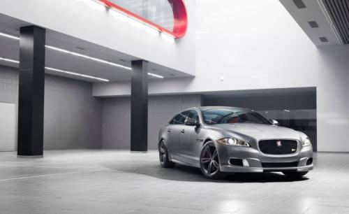 Jaguar teases new XJR sedan