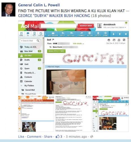 Colin Powell's Facebook hacker also hacked Bush Family e-mail accounts