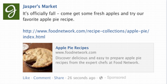 Facebook brings ads straight to your newsfeed 1