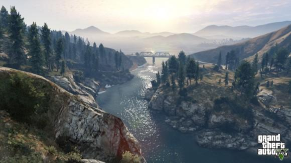 Grand Theft Auto V screenshots from current gen consoles 6