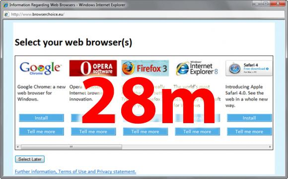 Microsoft facing EU browser fine by end of March claim insiders