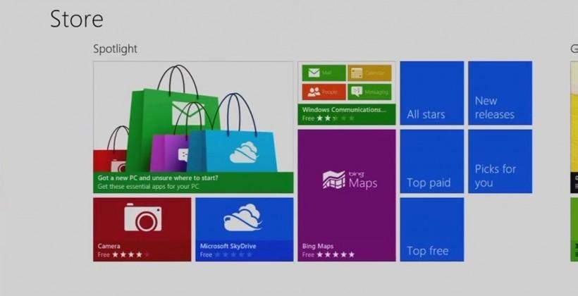 Microsoft's Windows Store reaches 50,000 apps milestone