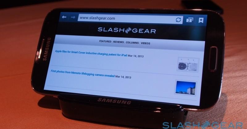 Samsung GALAXY S 4 Hands-on