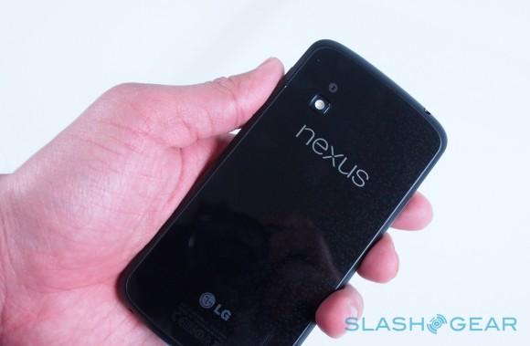 Google updates Nexus 4 design with small nubs, new camera lens