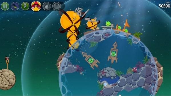 Angry Birds Space now available on Steam