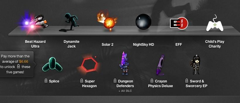 Crayon Physics Deluxe, Splice, and Swords of Sworcery added to Humble Bundle