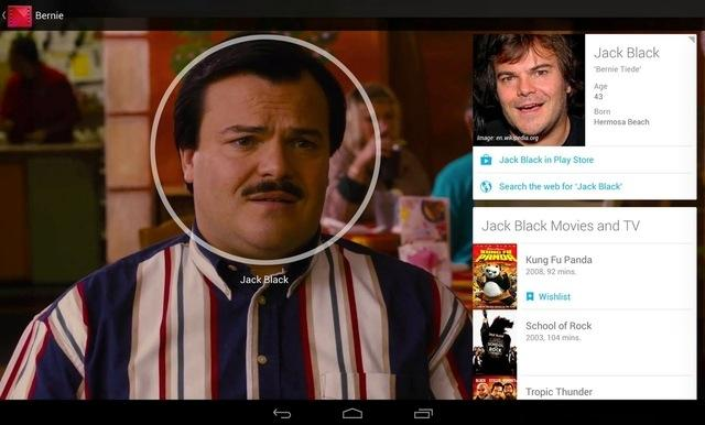 Google Play Movies adds info cards for actors, actresses