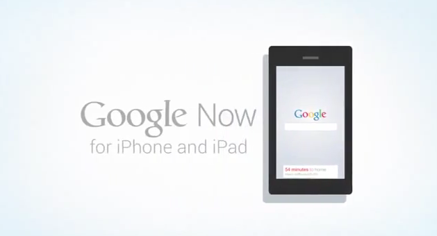 Google Now for iPhone and iPad video leaked on YouTube