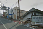 Google Street View shows abandoned post-earthquake Fukushima city